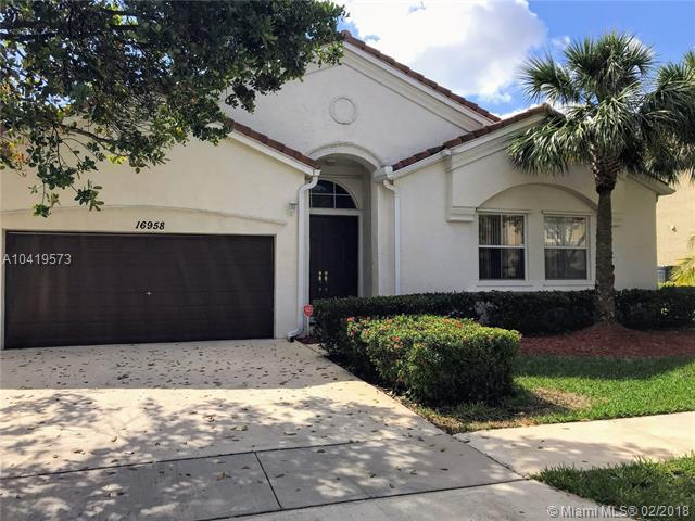 16958 SW 16th St, Pembroke Pines, FL 33027 (MLS #A10419573) :: The Teri Arbogast Team at Keller Williams Partners SW