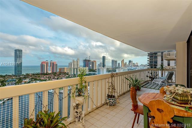 19707 Turnberry Way 25F, Aventura, FL 33180 (MLS #A10419814) :: Green Realty Properties