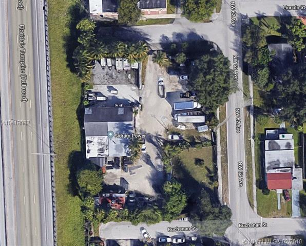 6205 Buchanan St, Hollywood, FL 33024 (MLS #A10419892) :: The Teri Arbogast Team at Keller Williams Partners SW