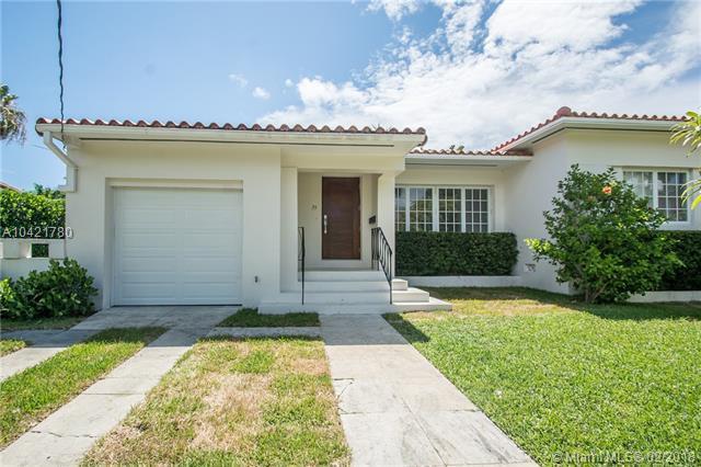 35 Dilido Drive, Miami Beach, FL 33139 (MLS #A10421780) :: The Teri Arbogast Team at Keller Williams Partners SW