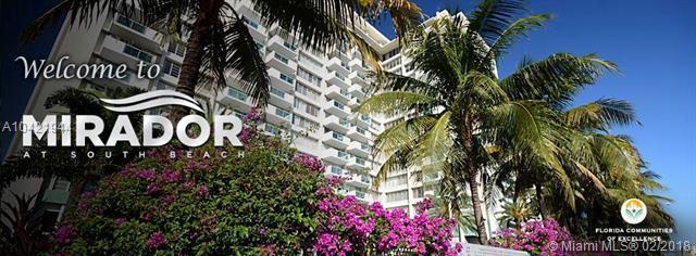 1200 West Avenue #907, Miami Beach, FL 33139 (MLS #A10421944) :: Green Realty Properties