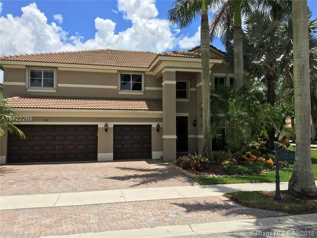 1849 Hidden Trail Ln, Weston, FL 33327 (MLS #A10422269) :: The Chenore Real Estate Group