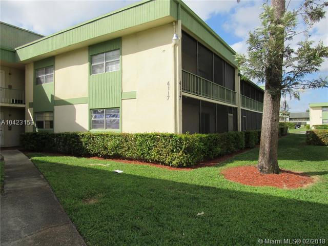 4117 NW 88th Ave #105, Coral Springs, FL 33065 (MLS #A10423153) :: Stanley Rosen Group