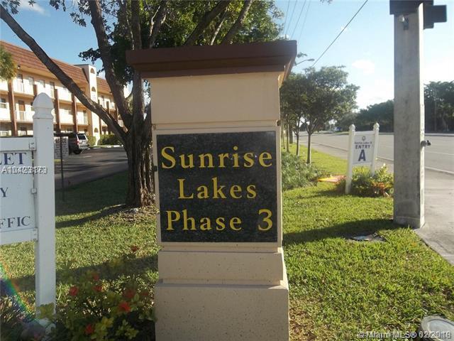2780 N Pine Island Rd #105, Sunrise, FL 33322 (MLS #A10423173) :: Stanley Rosen Group