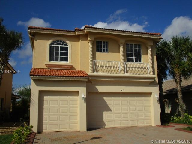 197 Catania Way, Royal Palm Beach, FL 33411 (MLS #A10426399) :: Hergenrother Realty Group Miami