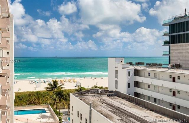 345 Ocean Dr #806, Miami Beach, FL 33139 (MLS #A10432217) :: The Teri Arbogast Team at Keller Williams Partners SW