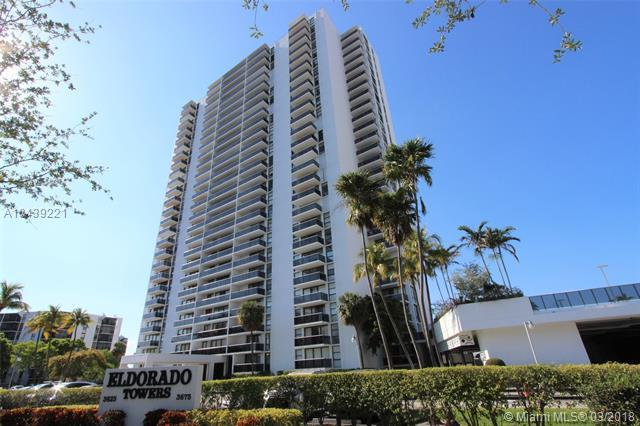 3625 N Country Club Dr #509, Aventura, FL 33180 (MLS #A10439221) :: Live Work Play Miami Group