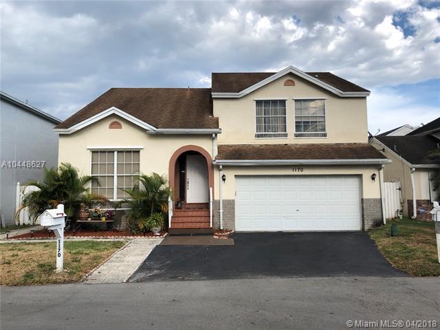 1170 SW 108th Ter, Davie, FL 33324 (MLS #A10448627) :: Green Realty Properties