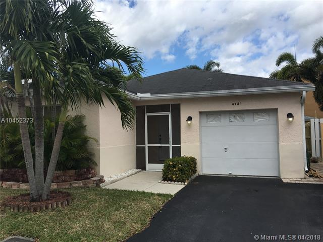 4131 SW 70TH TER, Davie, FL 33314 (MLS #A10452373) :: Stanley Rosen Group