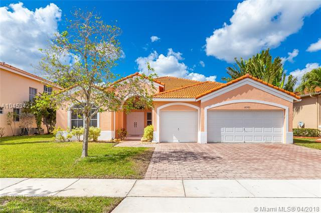 16583 NW 16th Street, Pembroke Pines, FL 33028 (MLS #A10453421) :: Hergenrother Realty Group Miami