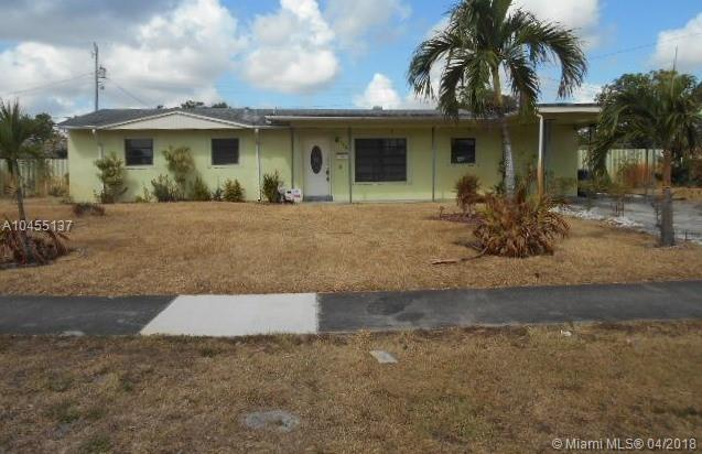 17200 NW 43rd Ct, Miami Gardens, FL 33055 (MLS #A10455137) :: Hergenrother Realty Group Miami