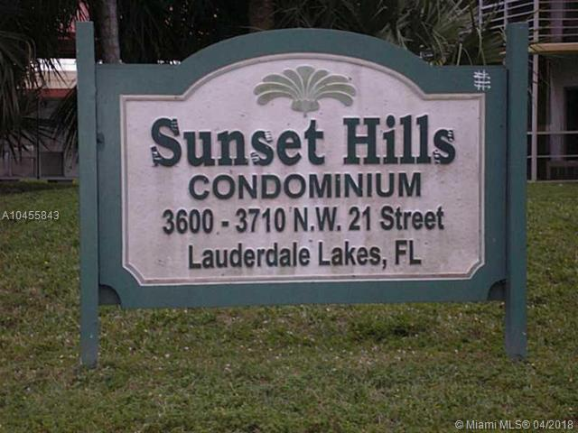 3600 NW 21st St #408, Lauderdale Lakes, FL 33311 (MLS #A10455843) :: Stanley Rosen Group