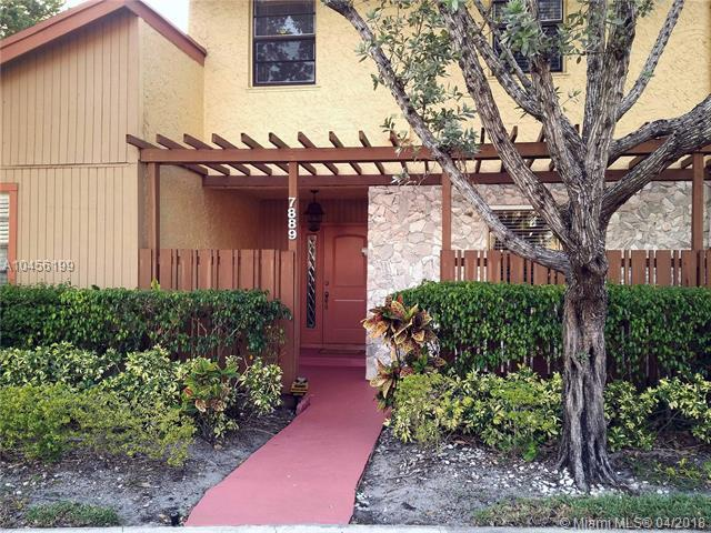 7889 NW 11 PLACE #7889, Plantation, FL 33322 (MLS #A10456199) :: Green Realty Properties