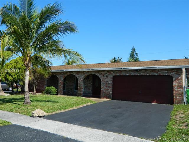 9451 NW 21st Mnr, Sunrise, FL 33322 (MLS #A10456333) :: Jamie Seneca & Associates Real Estate Team