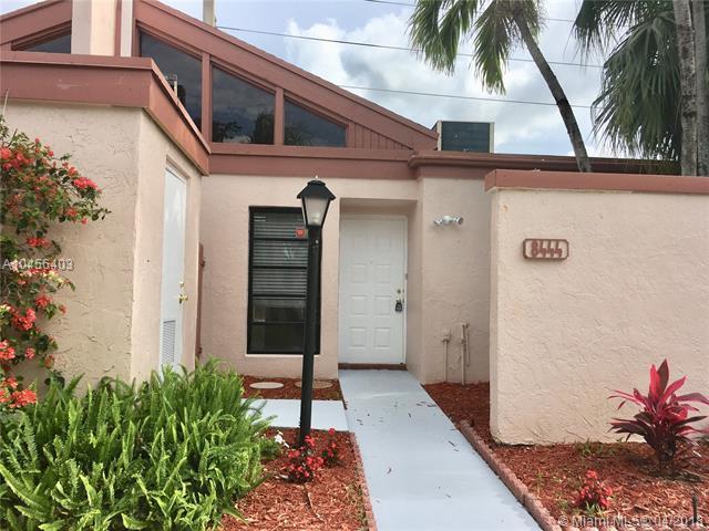 8444 NW 31st Ct #8444, Sunrise, FL 33351 (MLS #A10456403) :: Jamie Seneca & Associates Real Estate Team