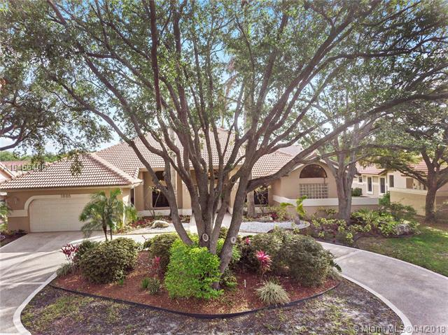 1885 Merion Lane, Coral Springs, FL 33071 (MLS #A10456406) :: Green Realty Properties