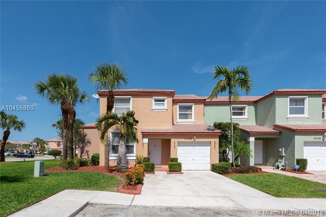 15123 NW 7th Ct #15123, Pembroke Pines, FL 33028 (MLS #A10456860) :: Stanley Rosen Group