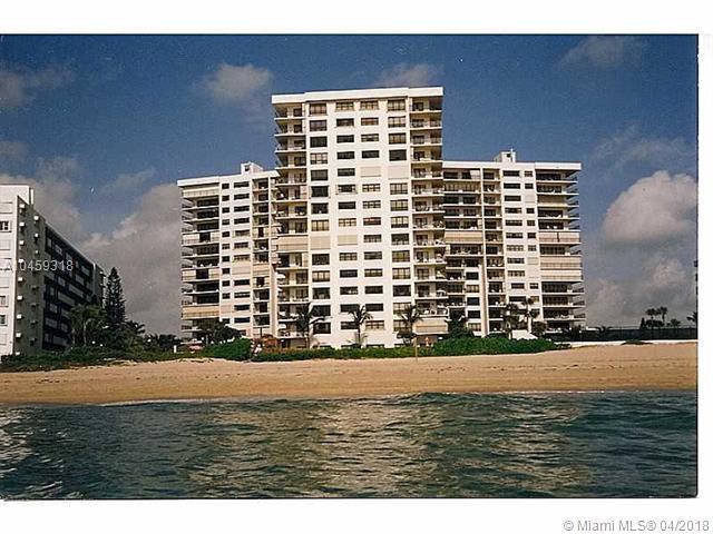 1800 S Ocean Boulevard #204, Lauderdale By The Sea, FL 33062 (MLS #A10459318) :: Calibre International Realty
