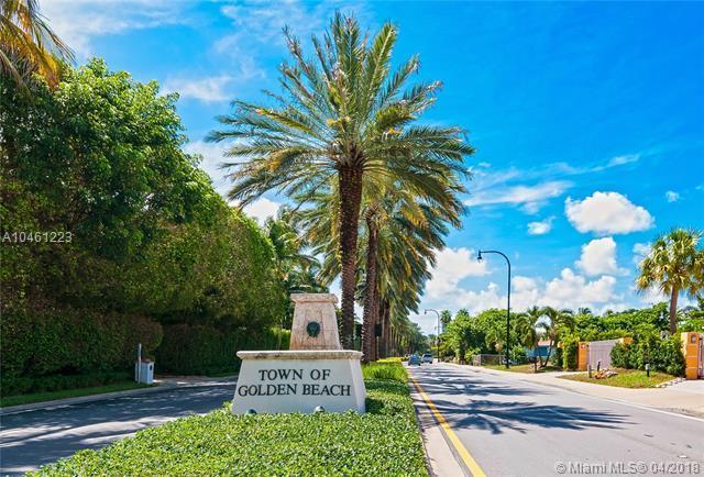 GOLDEN BEACH Lot 8 & 9, Golden Beach, FL 33160 (MLS #A10461223) :: Keller Williams Elite Properties