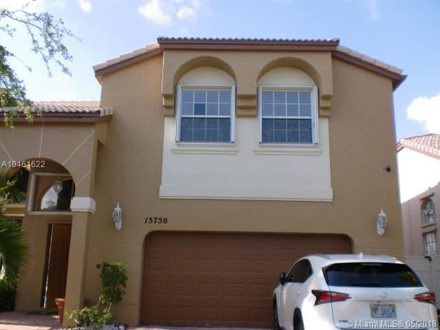 15750 NW 10th St, Pembroke Pines, FL 33028 (MLS #A10461622) :: Stanley Rosen Group