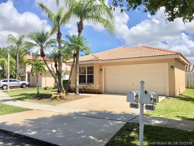 17442 SW 21st Ct, Miramar, FL 33029 (MLS #A10464633) :: Stanley Rosen Group