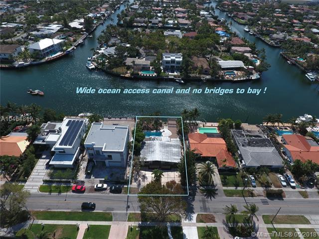 12700 N Bayshore Dr, North Miami, FL 33181 (MLS #A10464819) :: The Teri Arbogast Team at Keller Williams Partners SW