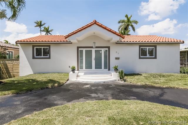 57 Glendale Dr, Miami Springs, FL 33166 (MLS #A10467750) :: Stanley Rosen Group