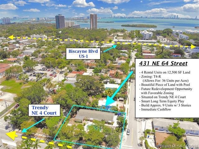 431 NE 64th St, Miami, FL 33138 (MLS #A10468280) :: The Jack Coden Group