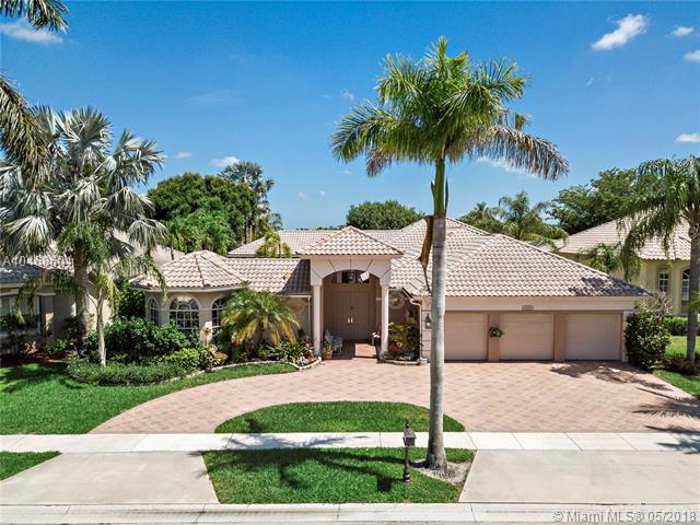 11589 NW Kensington Ct, Boca Raton, FL 33428 (MLS #A10468601) :: Green Realty Properties