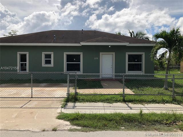 529 NW 4th Ave, Homestead, FL 33030 (MLS #A10472158) :: Stanley Rosen Group