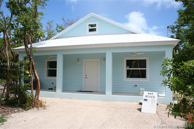 489 Beach Road, Other City - Keys/Islands/Caribbean, FL 33037 (MLS #A10472188) :: Stanley Rosen Group