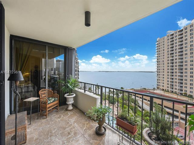 520 Brickell Key Drive A1013, Miami, FL 33131 (MLS #A10472961) :: The Teri Arbogast Team at Keller Williams Partners SW