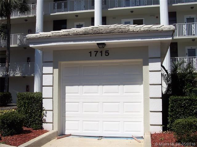 1715 Whitehall Dr #301, Davie, FL 33324 (MLS #A10473315) :: United Realty Group