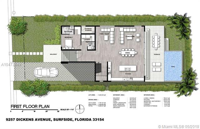 9257 Dickens Ave, Surfside, FL 33154 (MLS #A10473849) :: The Jack Coden Group