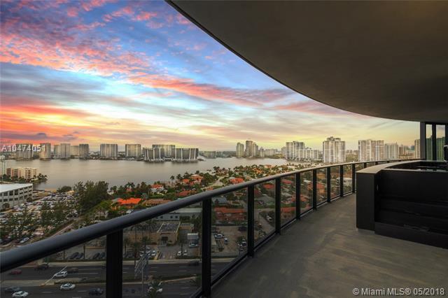 18555 Collins Ave #1603, Sunny Isles Beach, FL 33160 (MLS #A10474051) :: Keller Williams Elite Properties