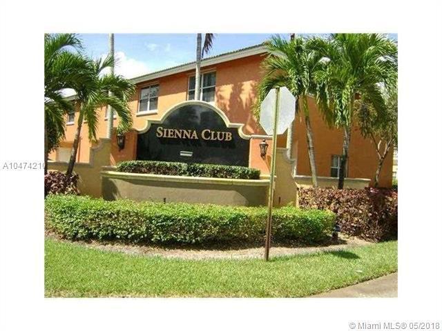 6706 Sienna Club Dr #6706, Lauderhill, FL 33319 (MLS #A10474210) :: The Teri Arbogast Team at Keller Williams Partners SW
