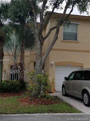 885 NW 170th Ter #5, Pembroke Pines, FL 33028 (MLS #A10474222) :: Stanley Rosen Group