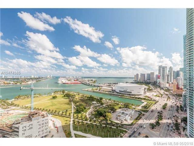 1100 Biscayne Bl #2705, Miami, FL 33132 (MLS #A10474585) :: Keller Williams Elite Properties