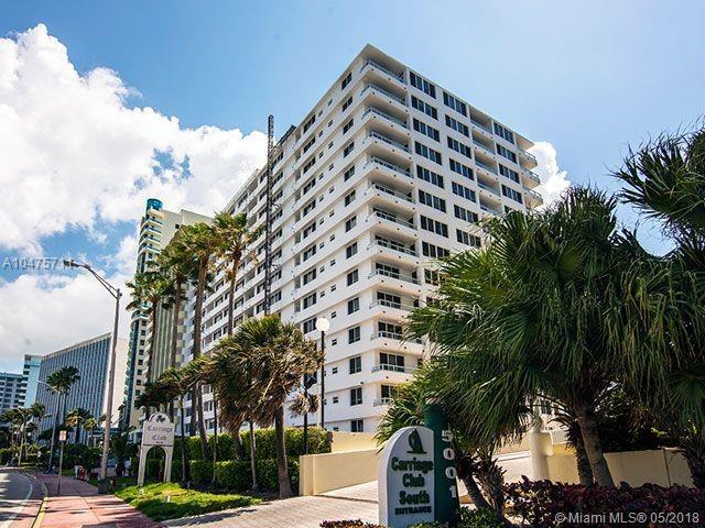 5005 Collins Ave #407, Miami Beach, FL 33140 (MLS #A10475711) :: The Riley Smith Group