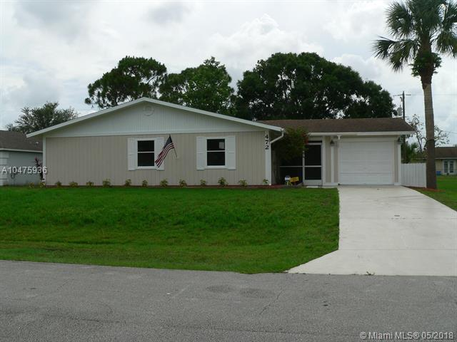 472 SW Aileen St, Port St. Lucie, FL 34983 (MLS #A10475936) :: The Teri Arbogast Team at Keller Williams Partners SW