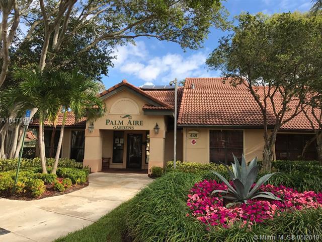 4561 W Mcnab Rd #17, Pompano Beach, FL 33069 (MLS #A10475959) :: Stanley Rosen Group
