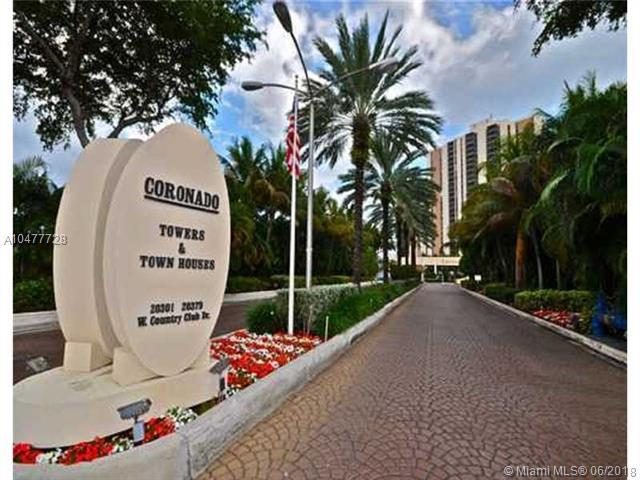 20335 W Country Club Dr #1209, Aventura, FL 33180 (MLS #A10477728) :: Green Realty Properties