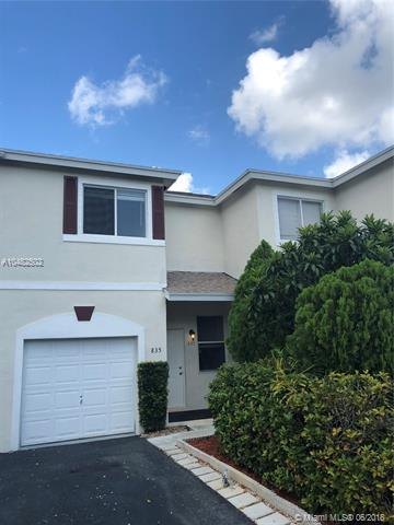 835 NW 42nd Pl #835, Deerfield Beach, FL 33064 (MLS #A10482502) :: Green Realty Properties