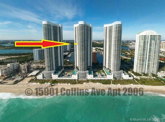 15901 Collins Ave #2906, Sunny Isles Beach, FL 33160 (MLS #A10483368) :: The Teri Arbogast Team at Keller Williams Partners SW