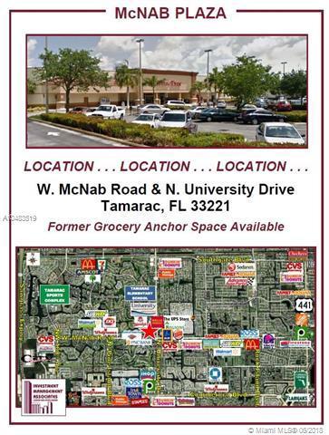 7015 N University Dr, Tamarac, FL 33321 (MLS #A10483519) :: The Teri Arbogast Team at Keller Williams Partners SW