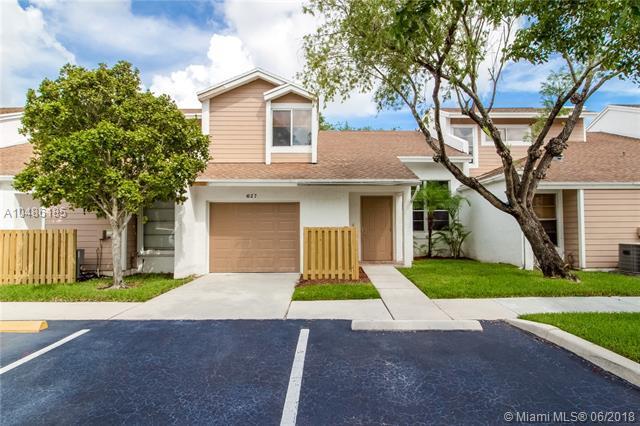627 Woodgate Cir. C, Sunrise, FL 33326 (MLS #A10486185) :: Melissa Miller Group