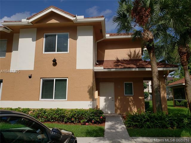 778 NW 91st Ter #778, Plantation, FL 33324 (MLS #A10487835) :: Green Realty Properties