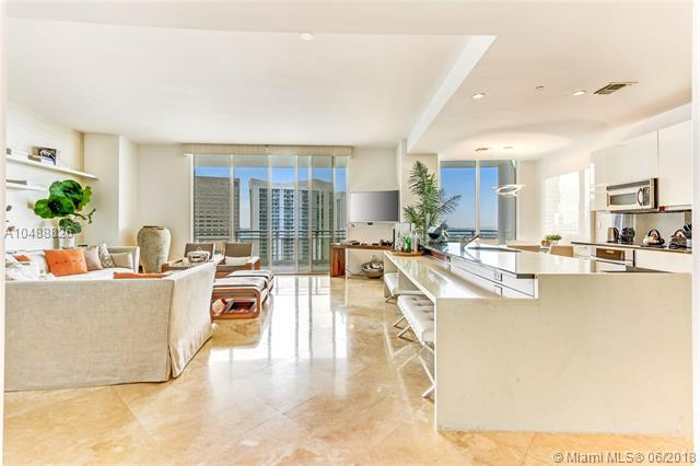 901 Brickell Key Blvd #3507, Miami, FL 33131 (MLS #A10488826) :: The Teri Arbogast Team at Keller Williams Partners SW