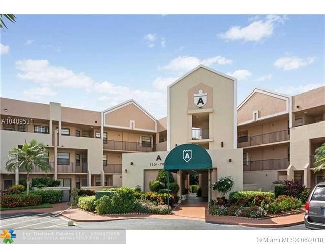 7213 Fairfax Dr #107, Tamarac, FL 33321 (MLS #A10489531) :: Prestige Realty Group