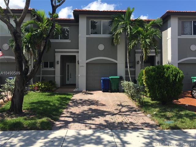 12951 SW 28th Ct #12951, Miramar, FL 33027 (MLS #A10490589) :: Green Realty Properties